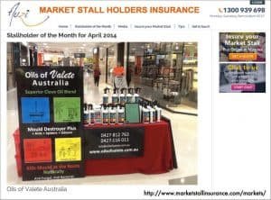 Media Mentions and Press Releases for Auzi and MarketStallInsurance.com