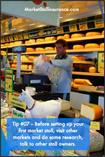 Market Stall insurance Tip 007