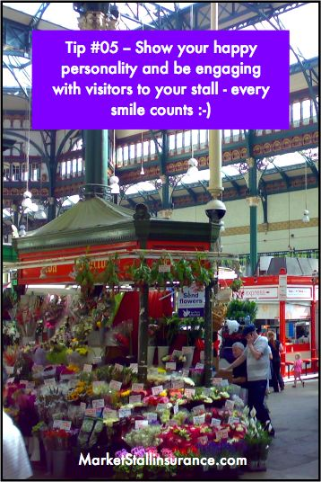 Market stall holder tip 05