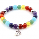 A rainbow bracelet by EJ Creative Flair