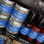 Bath products by Urban Therapie