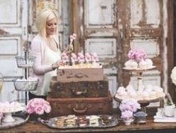 Cake market stall