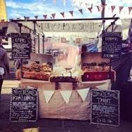 Bakery market stall