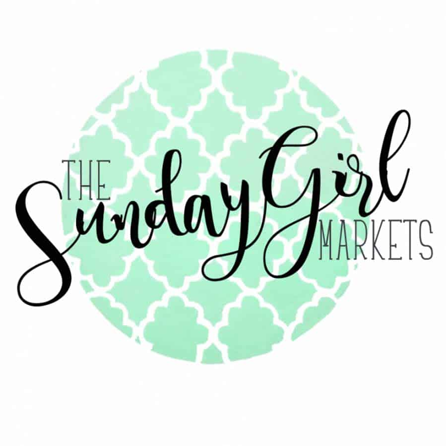 The Sunday Girl Events Markets logo green and black