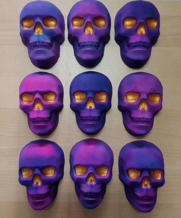 skull bath bombs for Mothers Day