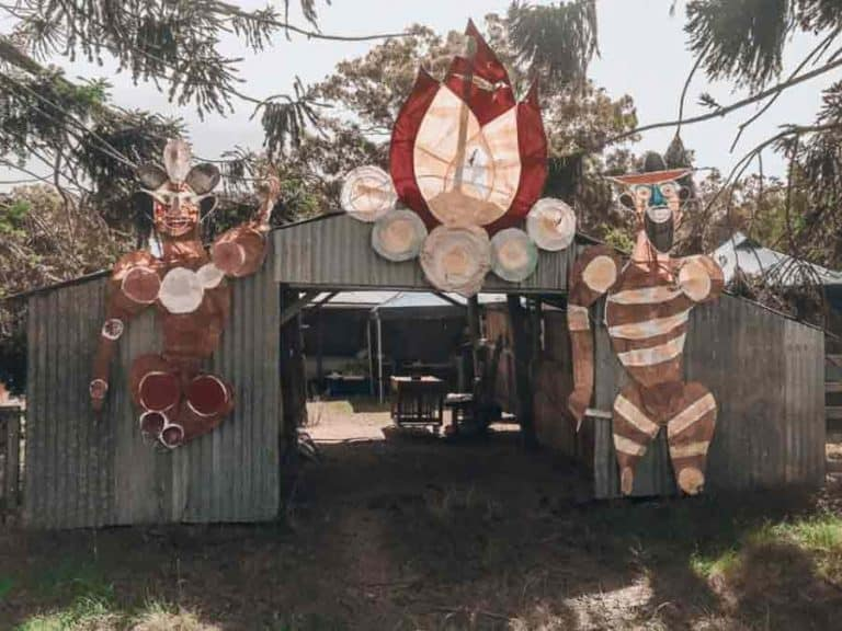 Bunya Festival decorations