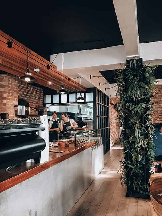 Modern and industrial cafe interiors by Cotto Cafe in Adelaide