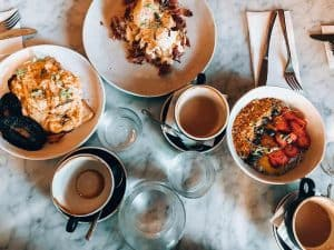 Breakfast and coffee at one of the best cafes in Adelaide, Public cafe Adelaide