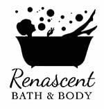 black and white Renascent bath & body logo