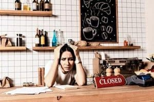running your own business can be stressful, here is a cafe owner