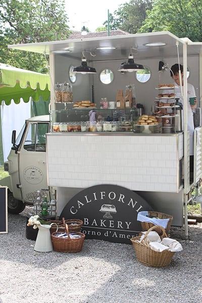 California Bakery selling from a mini van