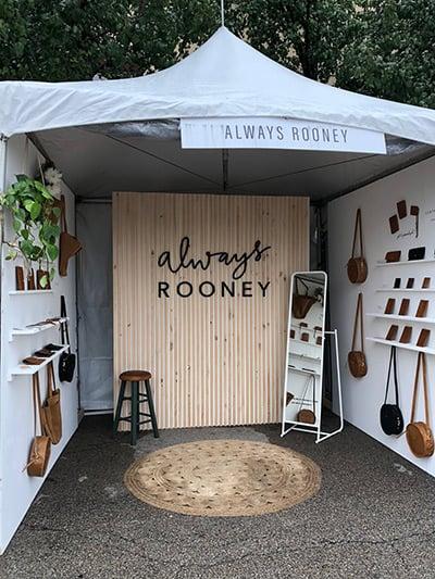 Market stall Always Rooney