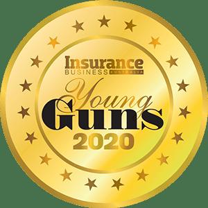 Insurance Young Gun 2020 badge