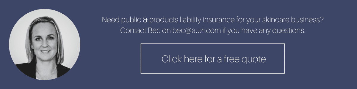 Get a public and products liability insurance quote